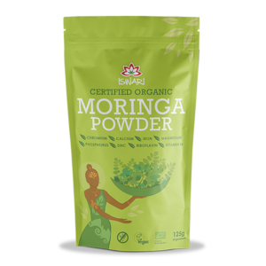 Моринга порошок Ишвари Wheatgrass Powder 125г (натуральное питание ISWARI)