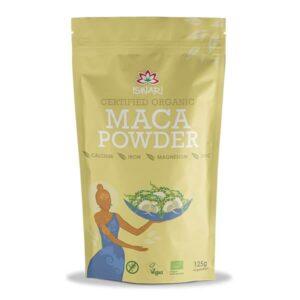 Мака порошок Ишвари Maca Powder 125г (натуральное питание ISWARI)