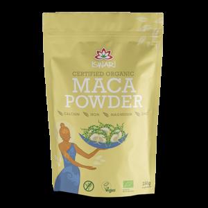 Мака порошок Ишвари Maca Powder 250г (натуральное питание ISWARI)