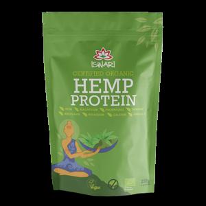 Протеин зерна конопли Ишвари Hemp Protein 250г (натуральное питание ISWARI)