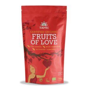 Смесь Любви Ишвари ягоды годжи,белая шелковица и миндаль 100г (натуральное питание ISWARI)