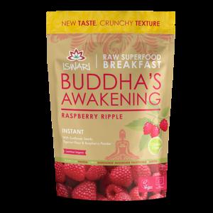 Завтрак Ишвари Buddha Awakening малина 360г (натуральное питание ISWARI)