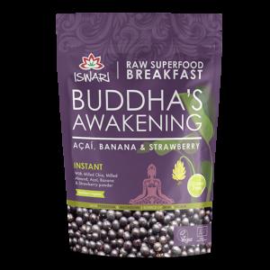 Завтрак Ишвари Buddha Awakening микс асаи,банан и клубника 360г (натуральное питание ISWARI)