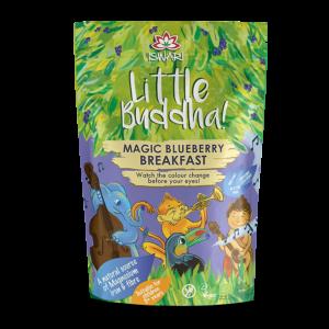 Завтрак для детей Ишвари Little Buddha черника 300г (натуральное питание ISWARI)