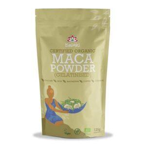 Макка порошок желированный Ишвари Maca Powder 125г (натуральное питание ISWARI)
