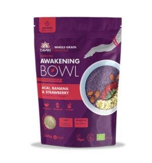 Завтрак Ишвари Awakening Bowl Асая, банан, клубника 360г (натуральное питание ISWARI)