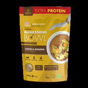 Завтрак Ишвари Awakening Bowl Рожковое дерево и банан 360г (натуральное питание ISWARI)