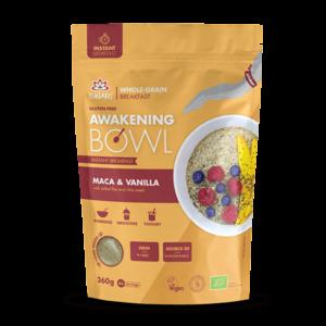 Завтрак Ишвари Awakening Bowl Мака и ваниль 360г (натуральное питание ISWARI)