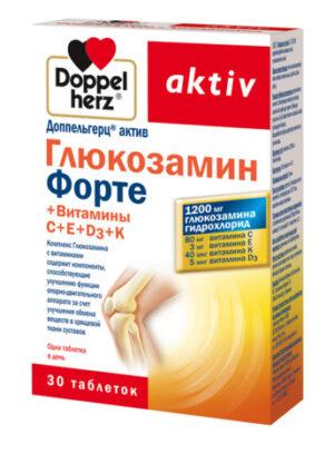 Доппельгерц Актив Глюкозамин Форте, таблетки 30шт