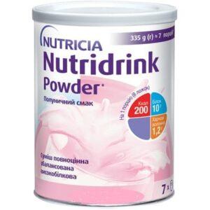 Нутридринк Паудер клубника Nutridrink Powder 335г Нутриция (Nutricia)