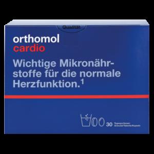 Orthomol Cardio гранулы+таблетки+капсулы на 30 дней