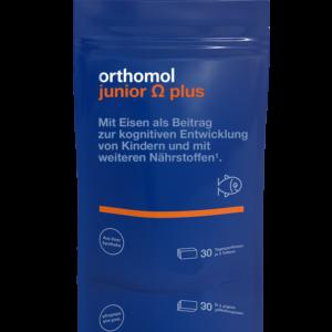 Orthomol Junior Omega Plus жевательные ириски на 30 дней