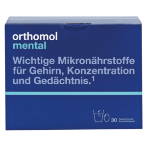 Orthomol Mental гранулы+капсулы на 30 дней