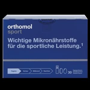 Orthomol Sport с Омега-3  гранулы+капсулы+флаконы на 30 дней