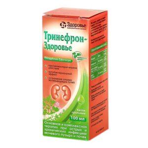Тринефрон-Здоровъе капли оральные флакон 100мл