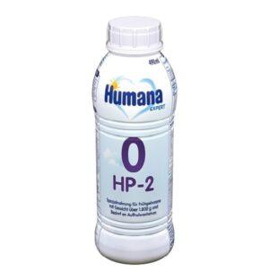Хумана O-HP-2 Expert жидкая гипоаллергенная молочная смесь 490мл Humana