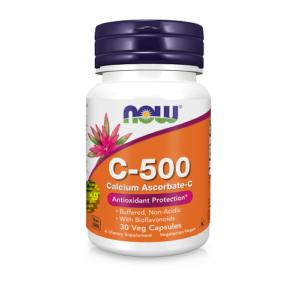 Now Витамин С-500мг капсулы №30 Now Foods