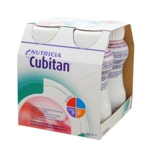 Кубитан Cubitan клубника 4×200мл Нутриция Nutricia