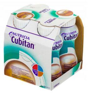 Кубитан Cubitan шоколад  4×200мл Нутриция Nutricia