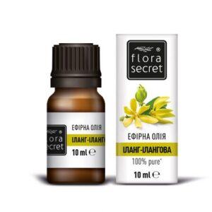 Иланг-Иланговое эфирное масло 10мл Flora Secret
