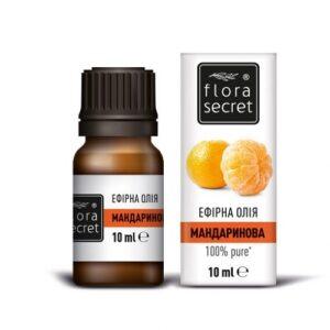 Мандариновое эфирное масло 10мл Flora Secret