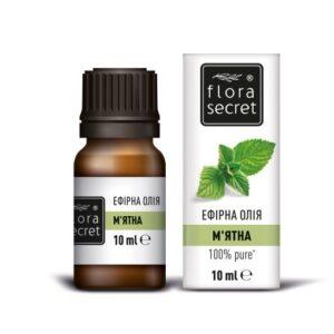 Мятное эфирное масло 10мл Flora Secret