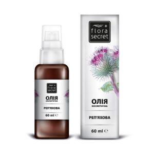 Репейное косметическое масло 60г Flora Secret
