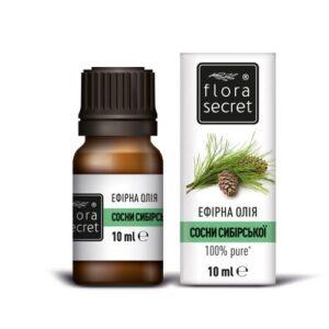 Сосны сибирской эфирное масло 10мл Flora Secret