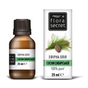 Сосны сибирской эфирное масло 25мл Flora Secret