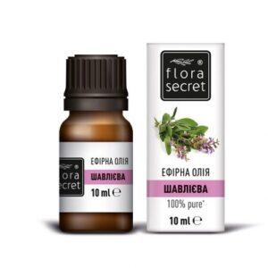 Шалфея эфирное масло 10мл Flora Secret