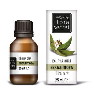 Эвкалиптовое эфирное масло 25мл Flora Secret