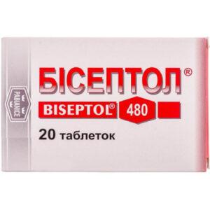 Бисептол 480мг таблетки 20шт