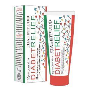 Диабетрилиф крем для тела 75мл