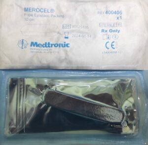 Тампон назальный послеоперационный Merocel hemoX  Pope 10см 1пара