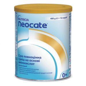 Neocate Nutricia сухая полноценная смесь на основе аминокислот 400г Неокейт Нутриция