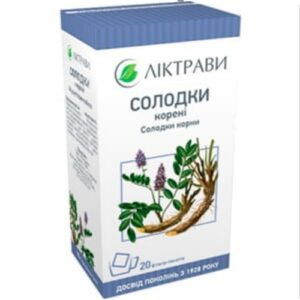 Солодки корни фильтр-пакеты 1,5г №20шт
