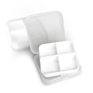 Таблетница  Enjee пластиковая сутки на 4 приема  РТ6074